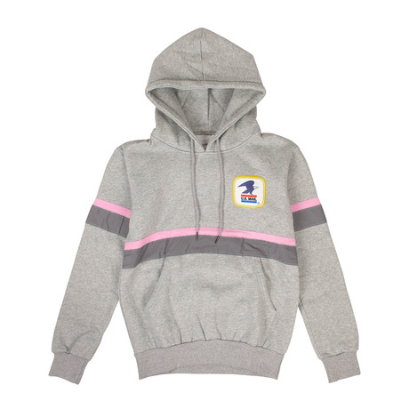 ANTI SOCIAL SOCIAL CLUB x USPS Work Sweatshirt // Gray (S)