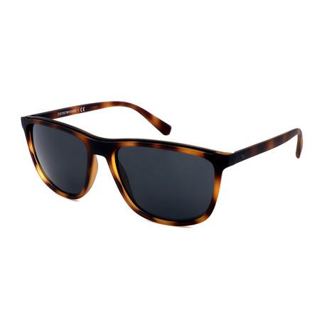 Emporio Armani // Men's EA4109-508987 Sunglasses // Havana + Gray