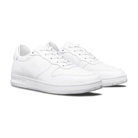 Malone Sneaker // Triple White Leather (US: 7)