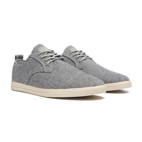 Ellington Textile Sneaker // Gravel Herringbone (US: 7)