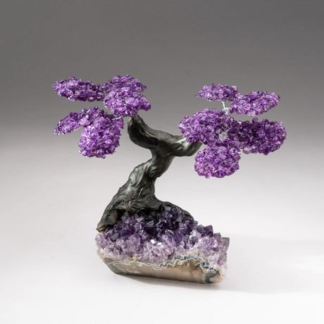 The Protection Tree // Custom Amethyst Tree + Amethyst Matrix // Size 1