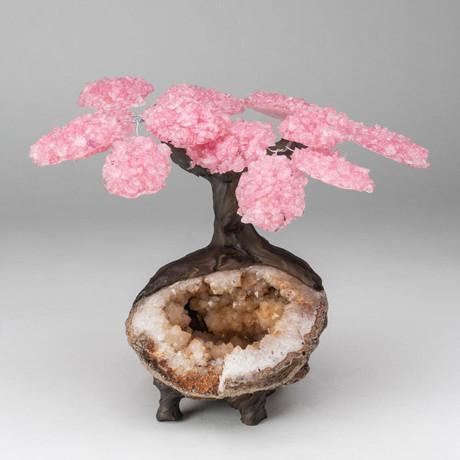 The Comfort Tree // Custom Rose Quartz Tree + Citrine Matrix // V4