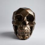 Bronze Polygon Skulls