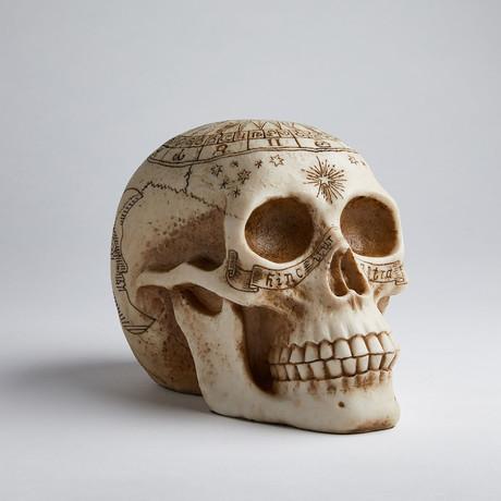 Astrology Skull