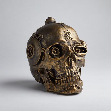 Machine Skull // Brass