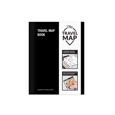 Travel Map Book