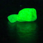 Quantum Glow-In-The-Dark Marble Stones // 8-15mm (Aqua Blaze)