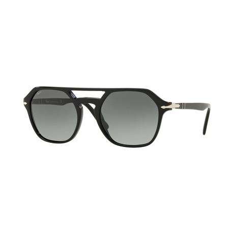 Men's 3206S Sunglasses // Black + Gray Gradient