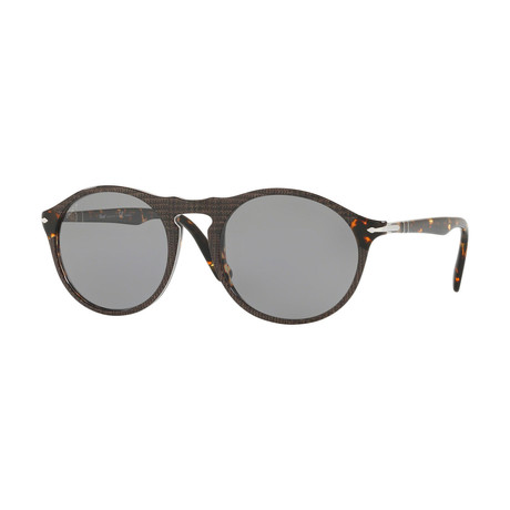 Men's 3204SM Polarized Sunglasses // Brown + Gray