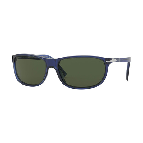 Men's 3222 Sunglasses // Crystal Blue + Green