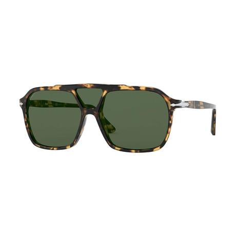 Men's 3223S Polarized Sunglasses // Tortoise + Green