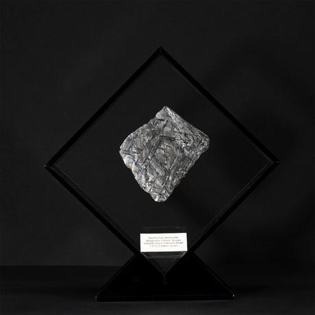 Seymchan Meteorite // Magadanskaya Oblast // Black Acrylic Display // Ver. 2