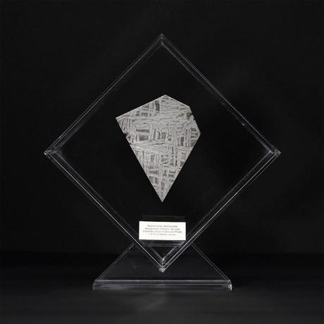 Seymchan Meteorite // Magadanskaya Oblast // Transparent Acrylic Display // Ver. 1