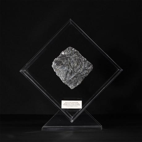 Seymchan Meteorite // Magadanskaya Oblast // Transparent Acrylic Display // Ver. 2
