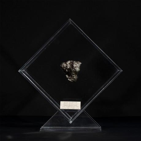 Sikhote Alin Meteorite // Siberia // Transparent Acrylic Display // Ver. 5