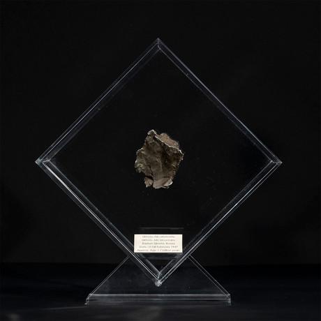 Sikhote Alin Meteorite // Siberia // Transparent Acrylic Display // Ver. 1