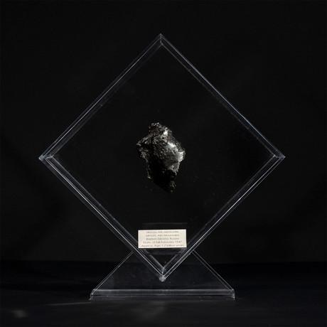 Sikhote Alin Meteorite // Siberia // Transparent Acrylic Display // Ver. 3