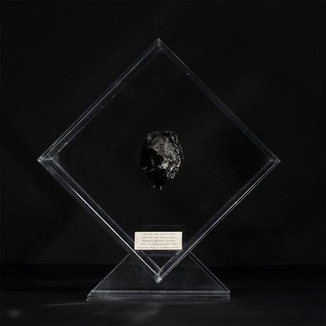 Sikhote Alin Meteorite // Siberia // Transparent Acrylic Display // Ver. 4