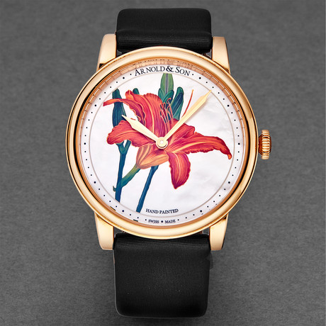 Arnold & Son Ladies HM Flower Manual Wind // 1LCAP.MO6A.L511A