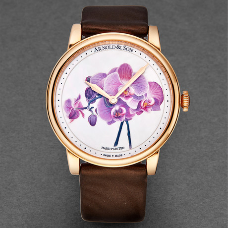 Arnold & Son Ladies HM Flower Manual Wind // 1LCAP.MO4A.L513A