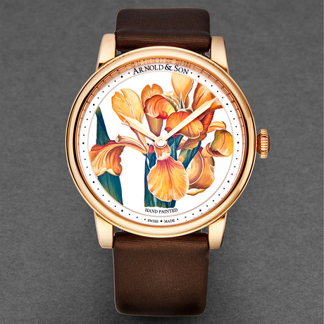 Arnold & Son Ladies HM Flower Manual Wind // 1LCAP.MO5A.L510A