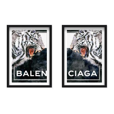 Tiger Effect Symbol // Set of 2