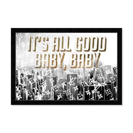 """All Good Gold (18""""H x 26""""W x 0.5""""D)"""
