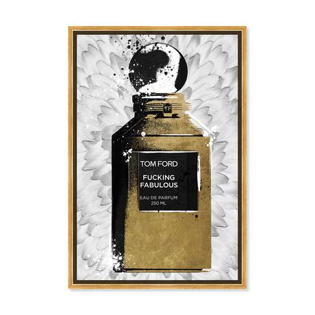 """Fabulous Noir Perfume Feathers (18""""H x 26""""W x 0.5""""D)"""