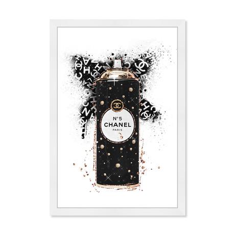 """Fashion Spray Noir (26""""H x 18""""W x 0.5""""D)"""
