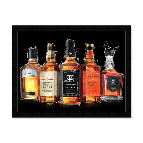 """Fashion Whiskey Collection (18""""H x 26""""W x 0.5""""D)"""