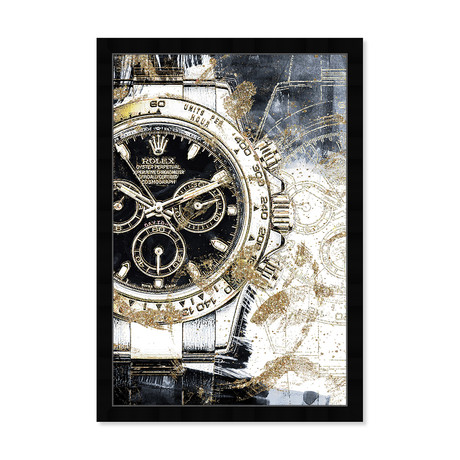 """Cosmograph Hour (26""""H x 18""""W x 0.5""""D)"""