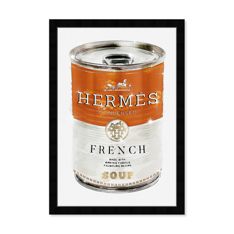 """French Luxe Soup (26""""H x 18""""W x 0.5""""D)"""
