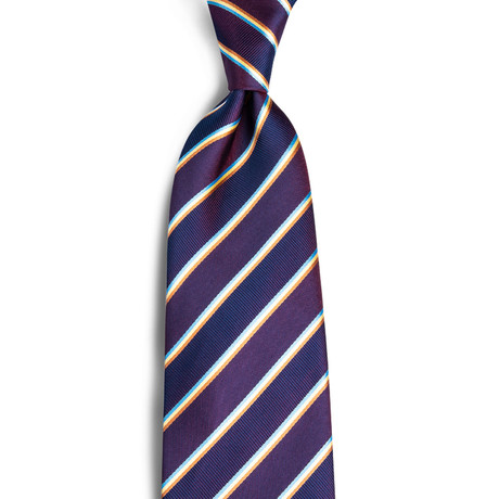 Bailey Handmade Silk Tie // Irridesant