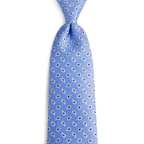 Percival Handmade Silk Tie // Light Blue