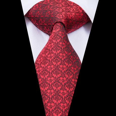 Phantom Handmade Silk Tie // Red