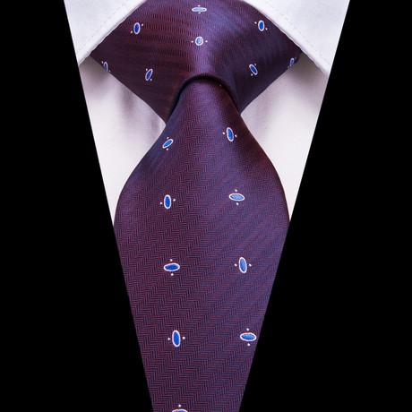 Jacob Handmade Silk Tie // Purple