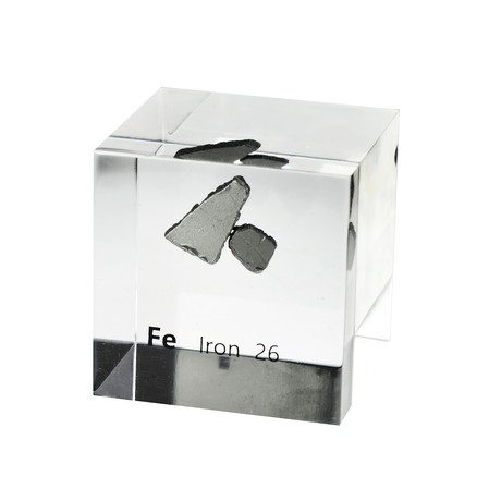 Lucite Cube // Iron V1