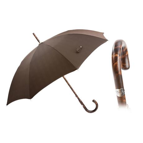 Milford Moro Hickory Brindle Umbrella // Brown