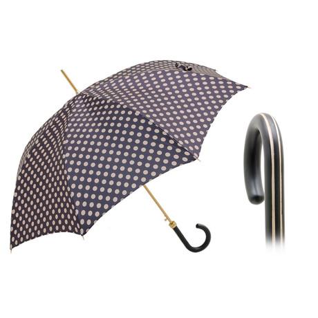 Polka Dots Umbrella // Black + Beige