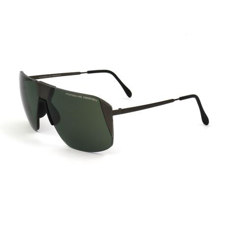 Unisex P8638 Sunglasses // Dark Gunmetal