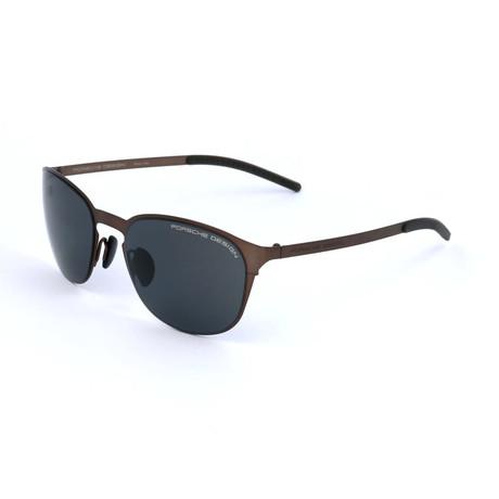 Unisex P8666 Sunglasses // Brown