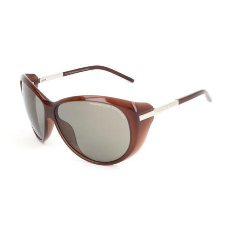 Women's P8602 Sunglasses V1 // Dark Chocolate