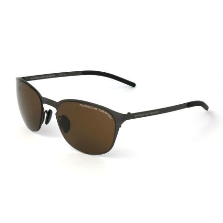 Unisex P8666 Sunglasses // Gunmetal