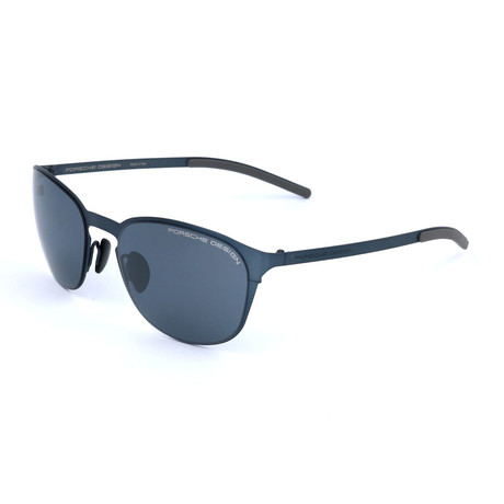 Unisex P8666 Sunglasses // Blue