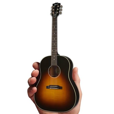 Gibson J-45 Slash November Burst 1:4 Scale Mini Guitar Model