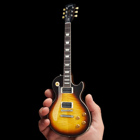 Gibson Les Paul Standard Slash November Burst 1:4 Scale Mini Guitar Model