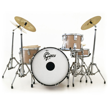 Charlie Watts // Rolling Stones Mini Drum Kit Model