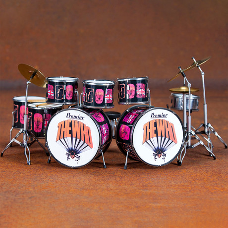 Keith Moon // The Who Pictures of Lily Tribute Drum Kit