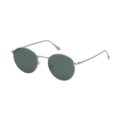 Men's Ryan Sunglasses // Gunmetal + Green