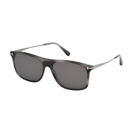 Men's Max Sunglasses // Gray + Gray